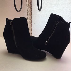 Dolce Vita🦚Women's Suede Leather Wedge Boots
